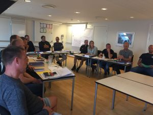 Undervisning på Proceslederuddannelsens modul 2