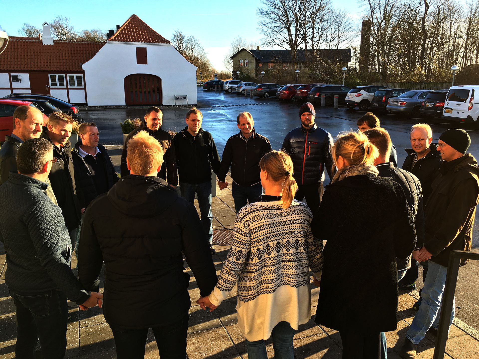 Samarbejds- og gruppeøvelser på Proceslederuddannelsen